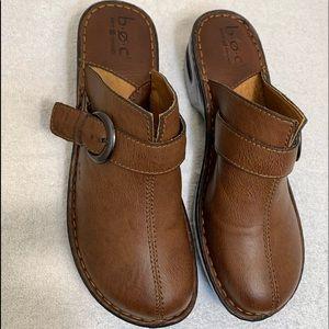 BOC born concept leather clogs